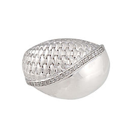 Di Modolo Sterling Silver .27 CTW Diamond Ricamo Ring
