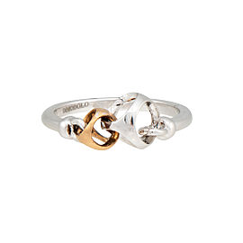 Di Modolo Sterling Silver Linked by Love Ring