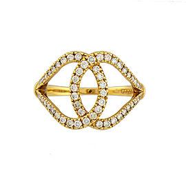 Di Modolo 18k Yellow Gold .56 CTW Diamond Fiama Ring