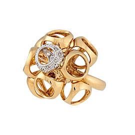 Di Modolo 18k Yellow Gold .11 CTW Diamond Icona Ring