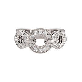 Di Modolo 18k White Gold .45 CTW Diamond Tempia Ring