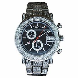 Gucci YA101331 Stainless Steel Quartz 44mm Mens Watch