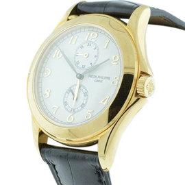 Patek Philippe Traveler 5134J Dual Time 18K Yellow Gold Men Watch