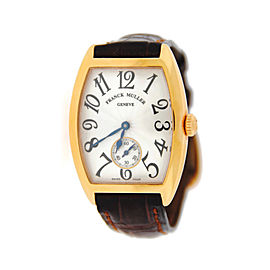Franck Muller Casablanca 7500 S6 18K Rose Gold Watch