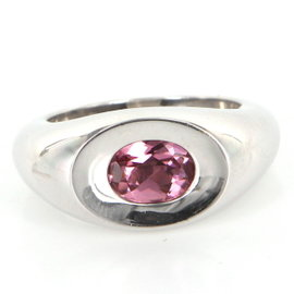 Mauboussin Pink Tourmaline 18k White Gold Ring