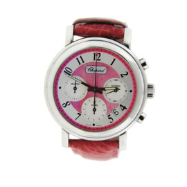 Chopard Mille Miglia 16/8331/11 Pink Dial Stainless Steel Watch