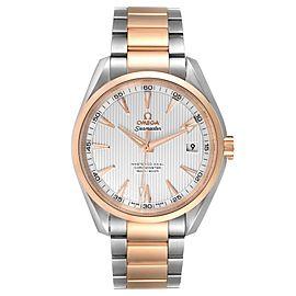 Omega Seamaster Aqua Terra Steel Rose Gold Watch 231.20.42.21.02.001