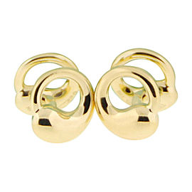 Tiffany & Co. 18K Yellow Gold Paloma Picasso Cufflinks