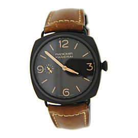 Panerai Radiomir 3 Day PAM504 Brown Composite Watch