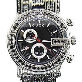 Gucci YA101309 Stainless Steel Quartz 44mm Mens Watch