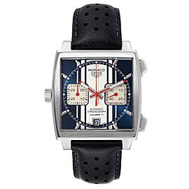 Tag Heuer Monaco McQueen Chronograph Limited Edition Watch CAW211D