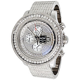 Breitling Super Avenger A13370 Stainless Steel with 36ct Diamond 55mm Mens Watch