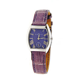 Van Der Bauwede Sterling Silver Quartz 25mm Womens Watch