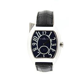 Van Der Bauwede Magnum Cal 55 Sterling Silver Manual 40mm Mens Watch