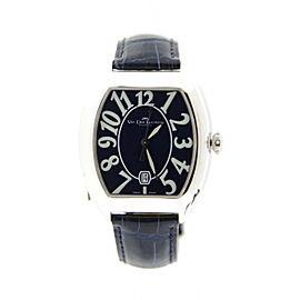Van Der Bauwede Magnum Cal 75 Sterling Silver Quartz 40mm Mens Watch