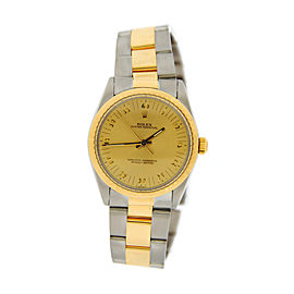 Rolex Oyster Perpetual Zephyr 1038 18K Yellow Gold & Stainless Steel 34mm Watch