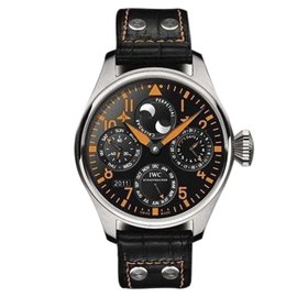 IWC Big Pilot Perpetual Calendar Limited Collectors Edition Stainless Steel 46mm Watch