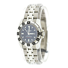 Tudor Hydronaut II 24030 Stainless Steel Blue Carbon Fiber Dial 30mm Womens Watch