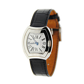 Bedat & Co. 334.010.101 No.3 Stainless Steel & Leather Quartz 31mm Womens Watch