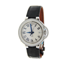 Bedat & Co. 828.040.600 No.8 Stainless Steel & Leather Diamond Automatic 36.5mm Womens Watch