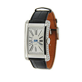 Bedat & Co. 788.030.101 No.7 Stainless Steel & Leather Diamond Automatic 43mm Men's Watch