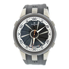 Perrelet Turbine A1050/4 Titanium/Stainless Steel & Rubber Automatic 48mm Mens Watch