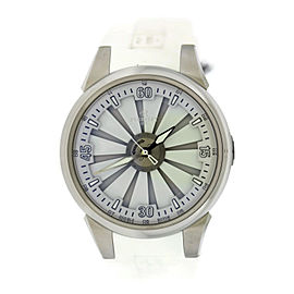 Perrelet Turbine A1064/6 Stainless Steel & Rubber Automatic 44mm Mens Watch