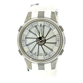 Perrelet Turbine A1065/1 Stainless Steel & Rubber Automatic 48mm Mens Watch