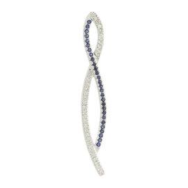 Le Vian 14K White Gold Sapphire & Diamond Pendant