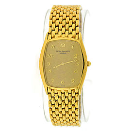Patek Philippe Gondolo 3842/1 18K Yellow Gold Manual 28mm Mens Watch