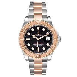 Rolex Yachtmaster Everose Gold Steel Rolesor Mens Watch 126621