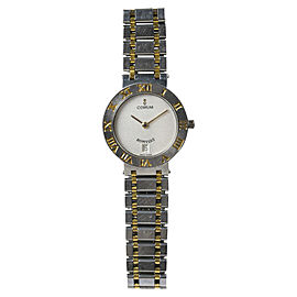 "Corum ""Romvlvs"" 49.203.21.V-48 Stainless Steel & 18K Yellow Gold 20mm Womens Watch"