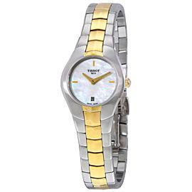 Tissot T-Round T0960092211100 25.9mm Womens Watch