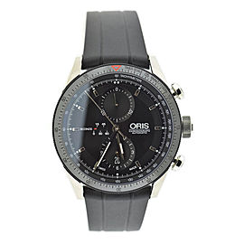Oris Artix GT Chronograph 7661 Stainless Steel & Rubber Automatic 44mm Mens Watch