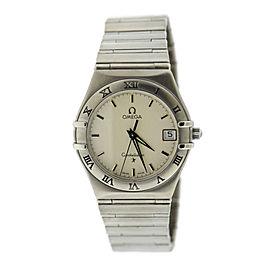 Omega Constellation Stainless Steel Quartz 34mm Unisex Watch