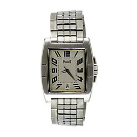 Piaget Upstream Stainless Steel Automatic 33mm Mens Watch
