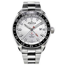 Alpina AL-550S5AQ6B Stainless Steel Automatic 44mm Mens Watch