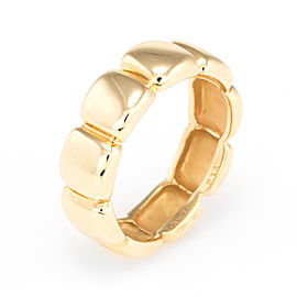Van Cleef & Arpels 18K Yellow Gold Band Ring Size 5.75