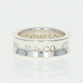 Tiffany & Co. 1837 925 Sterling Silver Contoured Band Ring Size 6