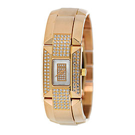 Concord La Scala 14-H5-1442 18K Rose Gold with Diamond Quartz 18mm Womens Watch