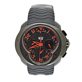 Franc Vila Grand Dateur FVA8CH PVD Coated Stainless Steel & Rubber 50mm Mens Watch