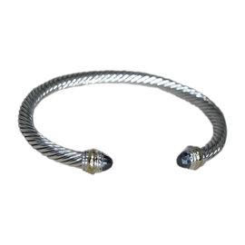 David Yurman 14K Yellow Gold & Sterling Silver Cuff Bracelet
