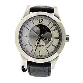 Perrelet Moonphase A1039/6 Stainless Steel with Silver Dial 42mm Mens Watch