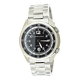 Hamilton Khaki Pilot Pioneer H76455133 Stainless Steel Automatic 43mm Mens Watch