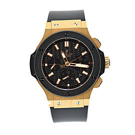 Hublot Big Bang 301.PB.131.RX 18K Rose Gold & Rubber Automatic 44mm Mens Watch
