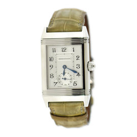 Jaeger LeCoultre Reverso 256.8.75 Stainless Steel Manual 23mm Womens Watch