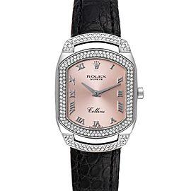 Rolex Cellini Cellissima White Gold 222 Diamonds Ladies Watch