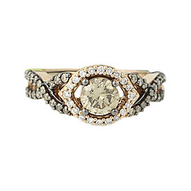 Le Vian 14K Rose Gold with 1.20ctw Diamond Ring Size 7