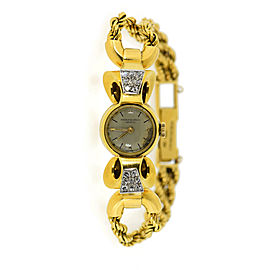 Patek Philippe 2192 Vintage 17.5mm Womens Watch