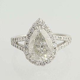Platinum Diamond Engagement Ring Size 5.5